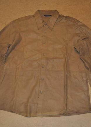 Dkny мужская кожанная куртка донна коран кожа