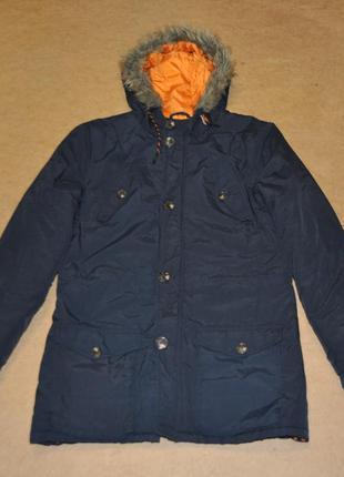 Fabric теплая мужская куртка парка зима