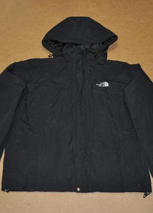 The north face черная куртка штормовка на мембране