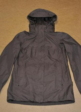 Jack wolfskin куртка штормовка коричневая
