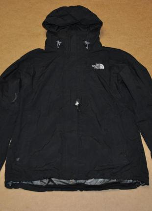 The north face hyvent мужская куртка штормовка черная на осень