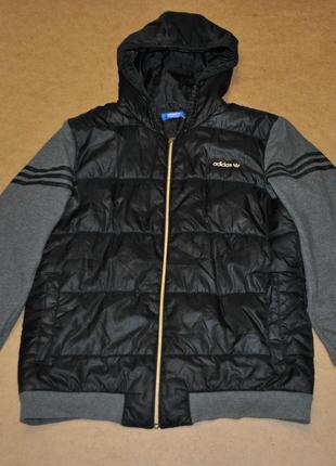 Adidas originals утепленная куртка адидас