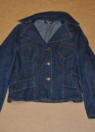Dolce & gabbana куртка женская джинсовка джинсовая оригинал га...