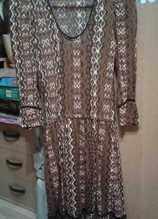 Красивое платье в стиле бохо