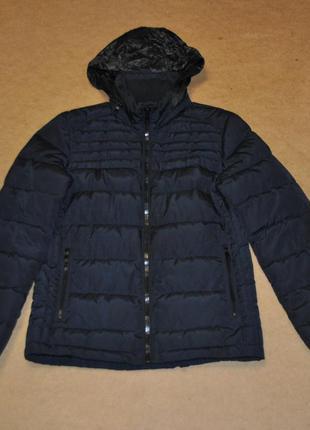 Zara man мужской пуховик зара куртка осень зима