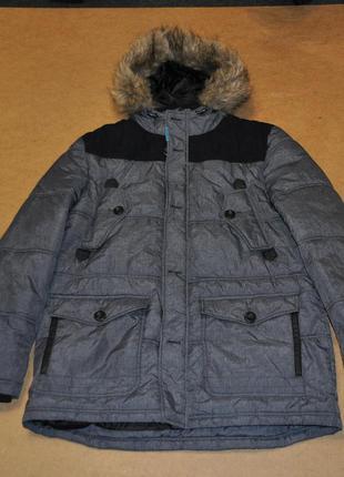 Angelo litrico теплая парка пуховик мужская зима