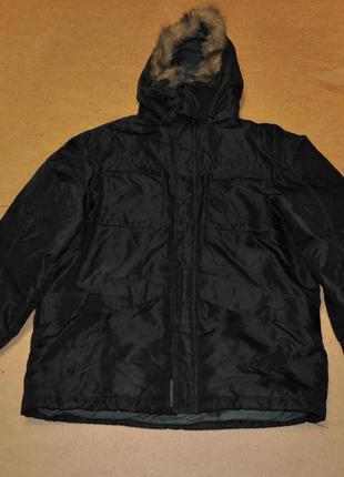 Schott nyc мега теплая парка зима куртка скотт