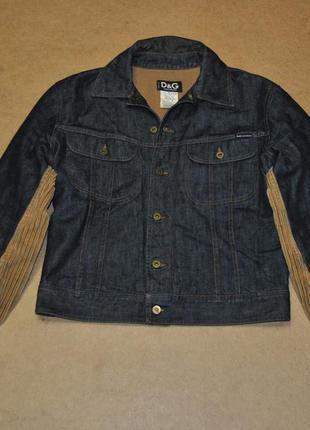 Dolce & gabbana d&g фирменная мужская джинсовая куртка джинсов...