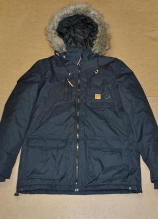 Top secret теплая парка мужская зима куртка