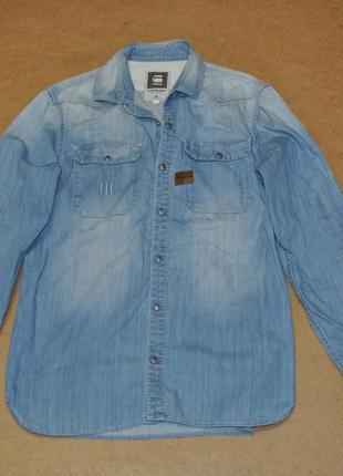 G-star raw мужская стильная куртка джинсовка г-стар