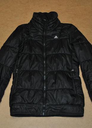 Adidas женский пуховик куртка зима адидас