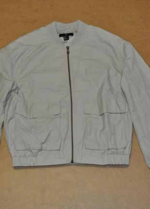 H&m фирменный бомбер куртка с рисунком на спине