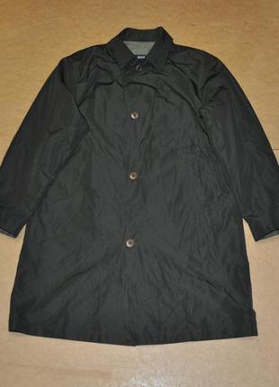 Hugo boss мужское фирменное пальто оливковое