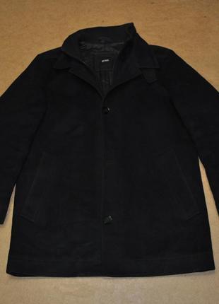 Hugo-boss фирменное пальто босс