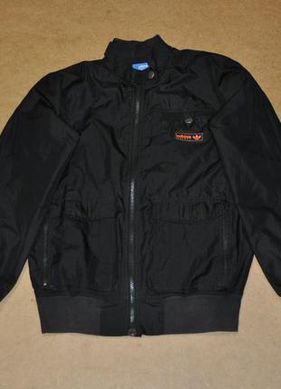 Adidas фирменная черная куртка адидас