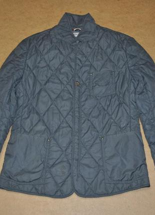 Tommy hilfiger denim куртка стеганая легкий пуховичек мужской