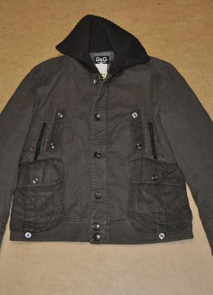 Dolce & gabbana d&g дольче габбана теплая куртка мужская