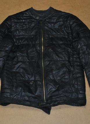Armani jeans мужская утепленная куртка пуховичек армани