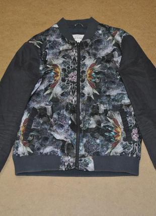 River island яркий мужской бомбер куртка