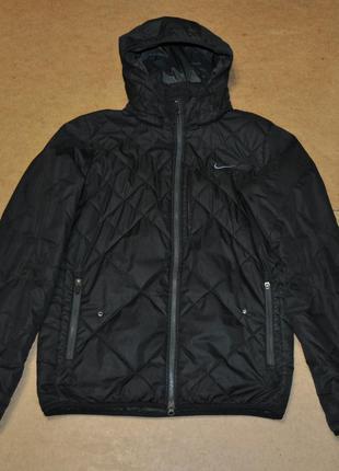Nike sportwear мужская куртка стеганая утеплена