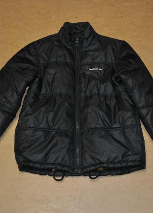 Reebok мужской пуховик куртка черный зима