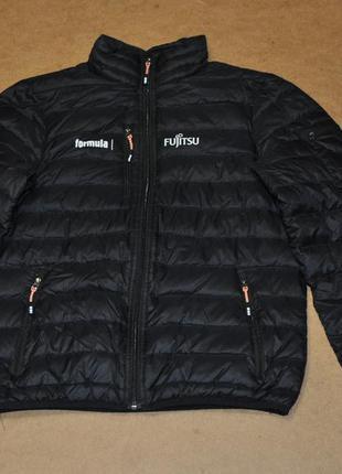 Elevate черная куртка пуховик