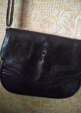 Классная сумка клатч с длинной ручкой