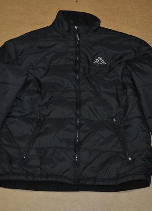 Kappa мужская куртка пуховик каппа зима