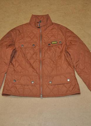 Barbour international женская стеганая куртка барубр