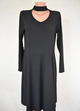 Новое платье в рубчик by very