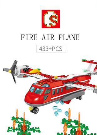 Конструктор 603038 Пожарный самолет 433 дет