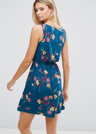 Z111 🔥 total sale 🔥яркое платье в цветочный принт new look a2019