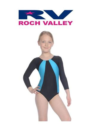 Купальник гимнастический roch valley англия на 9-10 лет р.134-...