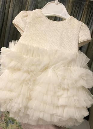 Идеальное платье на крестины малышке