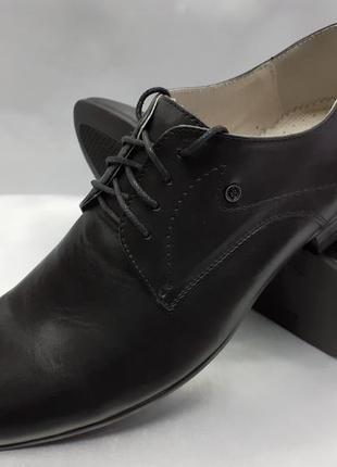 Распродажа!классические кожаные туфли на шнурках faro