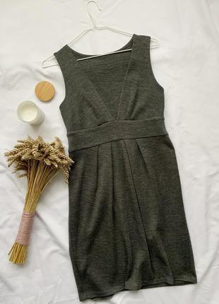 Платье, плаття, сукня, сарафан, серый, сірий