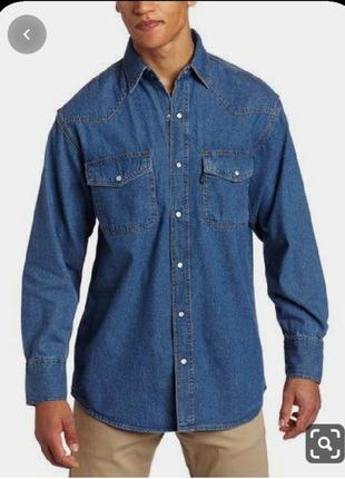 Мужская джинсовая рубашка aztec jeans