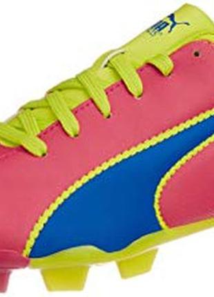 Детские футбольные бутсы puma unisex adreno fg jr sports shoes...