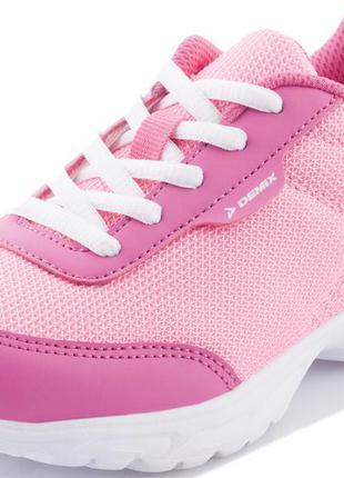 Детские кроссовки demix faster для девочек, 30-33 размеры