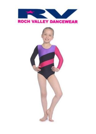 Купальник гимнастический roch valley на 11-12 лет, р.146 -152 см