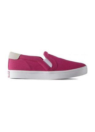 Кроссовки для девочки слипоны adidas courtvantage slip on k, 1...