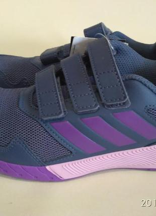 Кроссовки adidas altarun cf k цвет темно-синий/зеленый