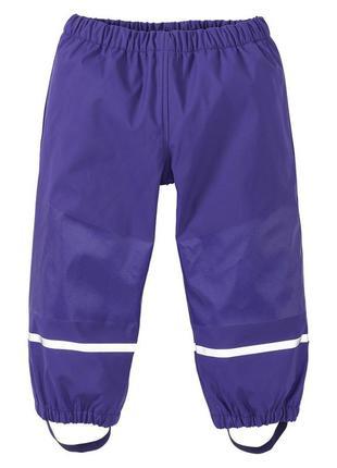 Брюки непромокайка штаны дождевик lupilu, 98-116 cм