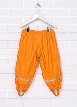 Брюки непромокайка штаны дождевик на флисе lupilu, 86 - 116 см