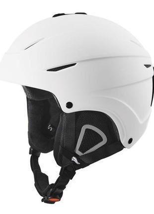 Шлем лыжный горнолыжный crivit белый, l/xl размер