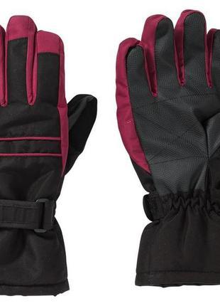 Женские лыжные перчатки crivit ladies' ski gloves, 7p.