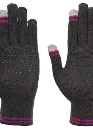 Женские сенсорные перчатки touch-ladies glove flint trespass