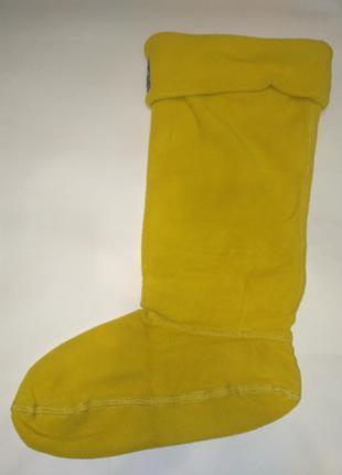 Вкладыш флисовый носок joules y welton gold, 38-39