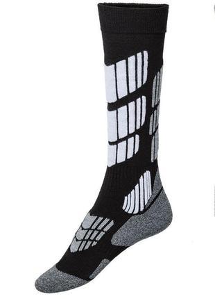 Лыжные высокие термо носки crivit, германия р. 35-36