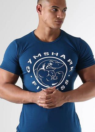 Мужская футболка для зала fitness t-shirt gymshark, l